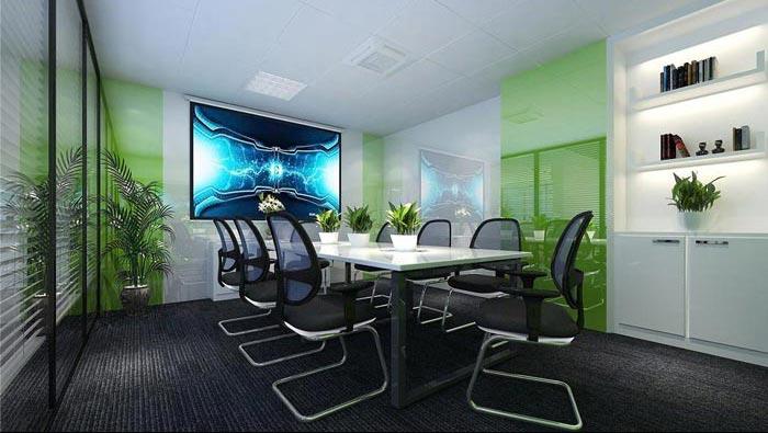 150平方小型创意办公室装修设计案例