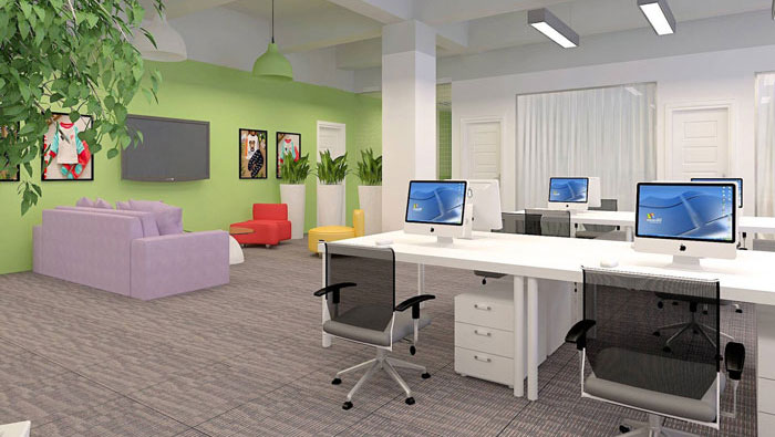 230平方小型办公室装修设计案例