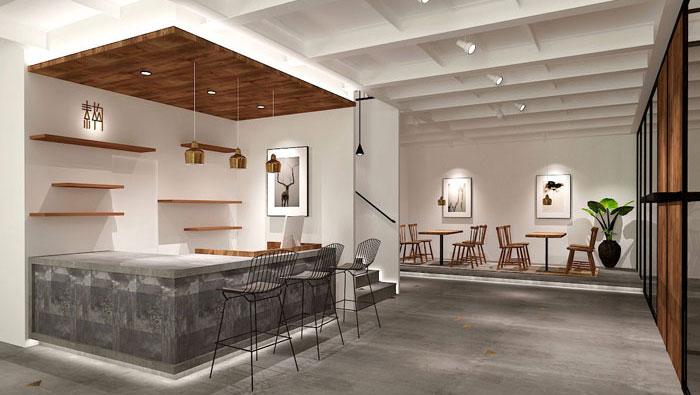 600平方服装公司办公室装修设计案例