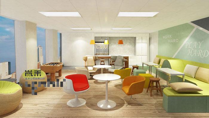 1450平方现代简约办公室装修设计案例
