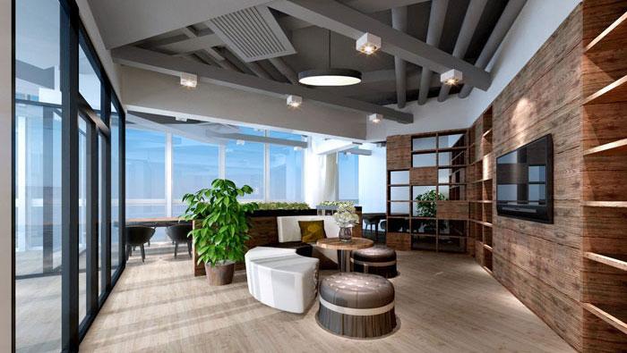 保险公司办公室装修设计效果图