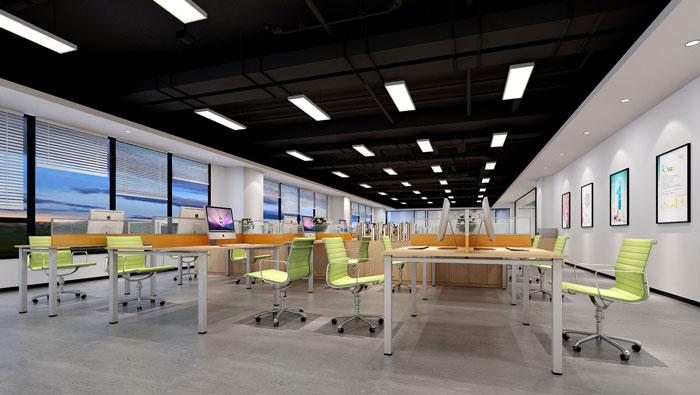880平方中型创新办公室装修设计案例