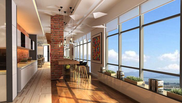 900平方中型创新办公室装修设计案例