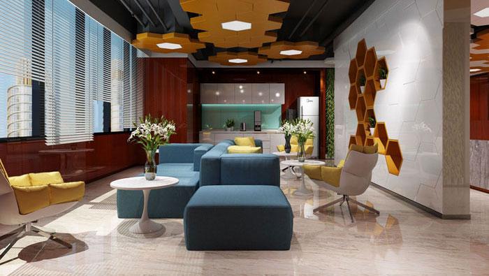 风险投资公司办公室装修设计效果图