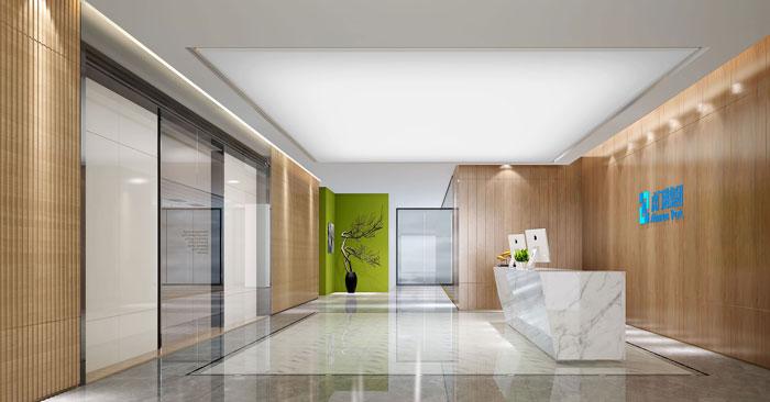 1200平方广告公司办公室装修设计案例