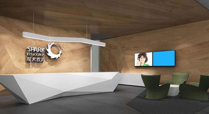 300平方教育办公室装修设计案例