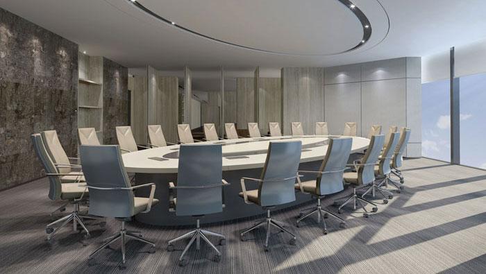 1420平方现代简约办公室装修设计案例