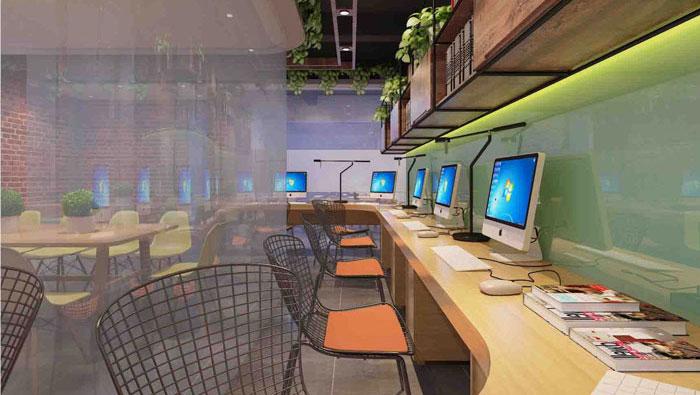 220平方现代简约办公室装修设计案例
