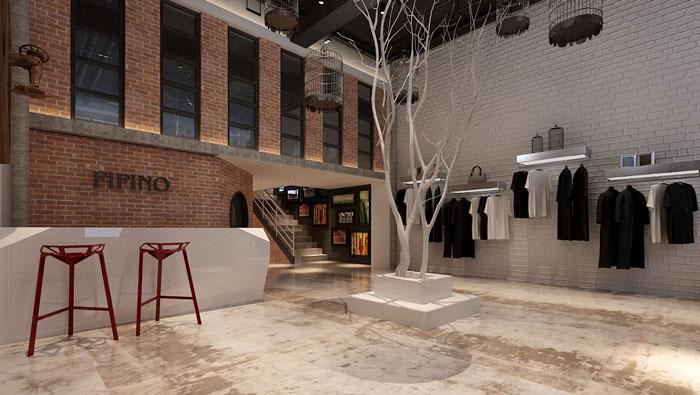 500平方LOFT风格办公室装修设计案例