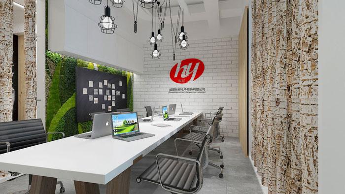 410平方中小型办公室装修设计案例