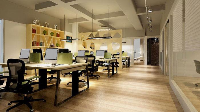 260平方现代简约办公室装修设计案例