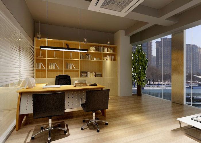 280平方服装公司总经理办公室设计效果图