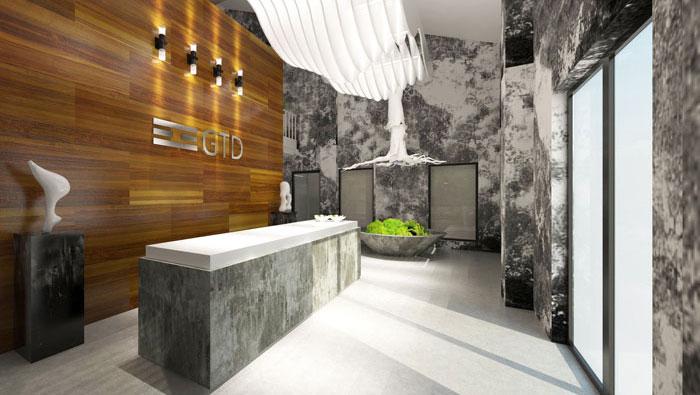 1000平方loft风格办公室装修设计案例