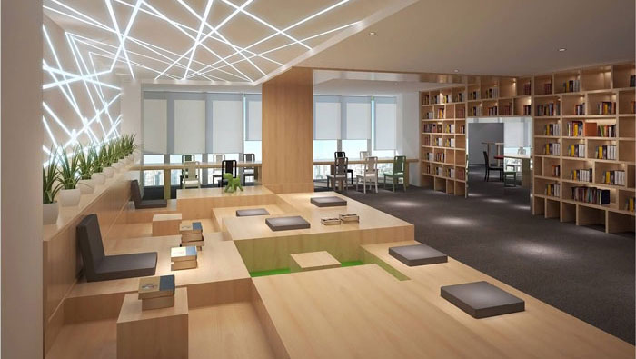 810平方中型办公室装修设计案例