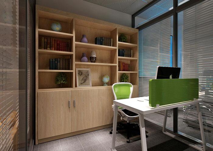 100平方经理办公室软装设计方案效果图