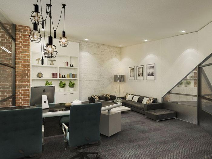 750平方总经理办公室软装设计方案效果图