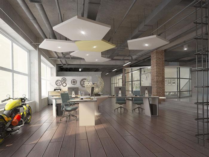 750平方办公室软装设计方案详解