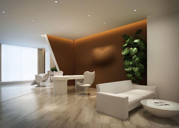 800平方总经理办公室软装设计方案效果图
