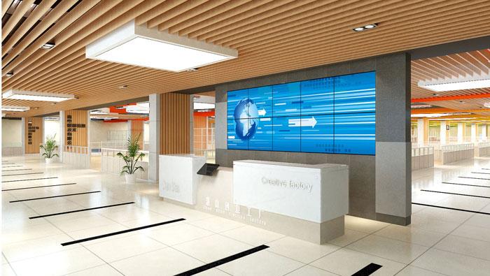 1500平方创意工厂办公室装修设计案例