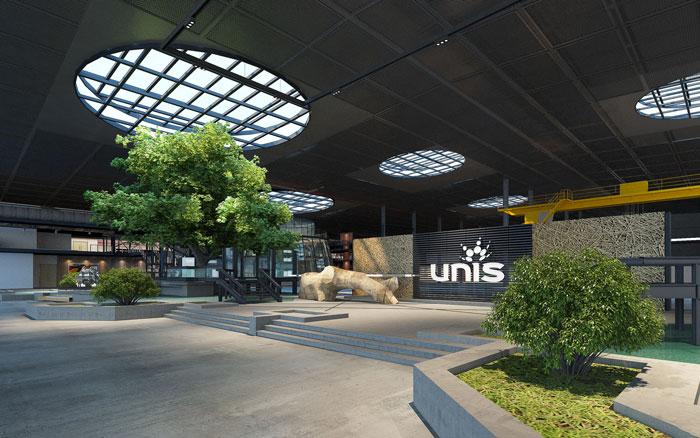 青岛装饰公司之1800平方办公室设计方案