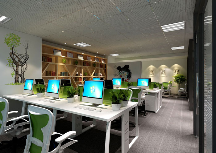 100平方办公室设计方案