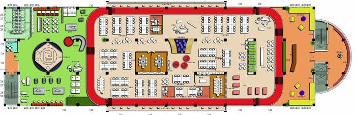 1900平方厂房办公室设计方案平面图