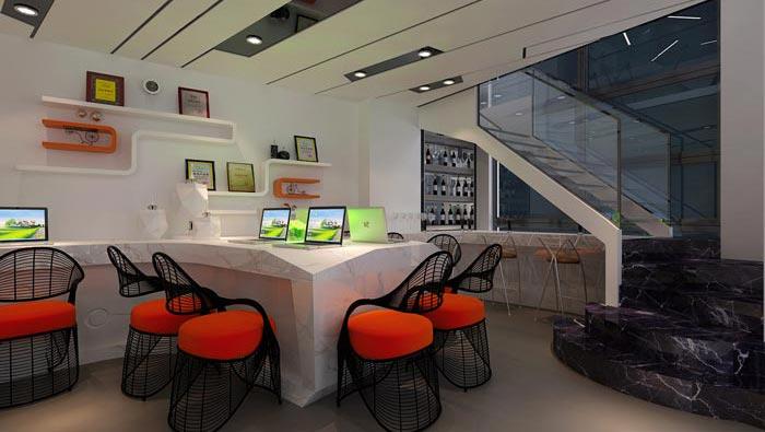 150平方loft风格办公室装修设计案例