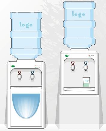饮水机效果图