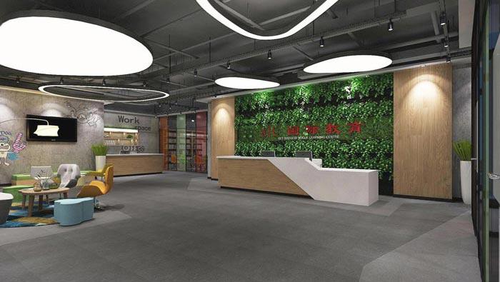 国际教育办公室装修设计案例