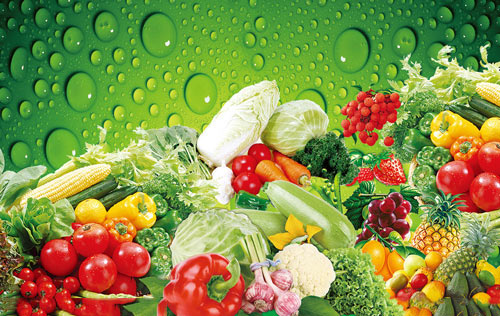 水果蔬菜效果图