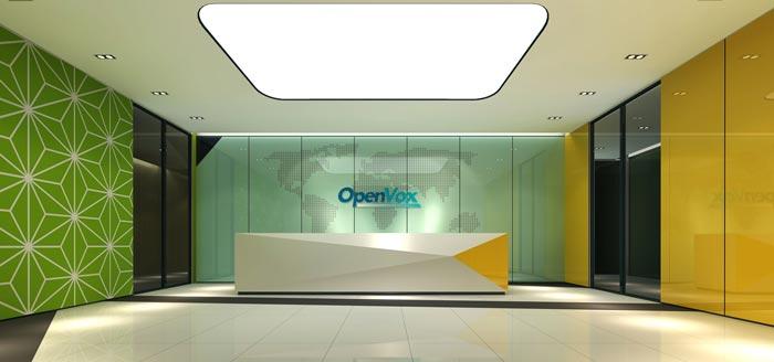 金融租赁公司办公室前台装修设计效果图