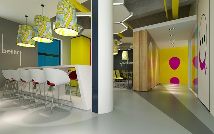 金融租赁公司办公室茶水间装修设计效果图