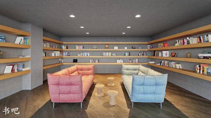 外贸电子商务公司办公室装修设计案例