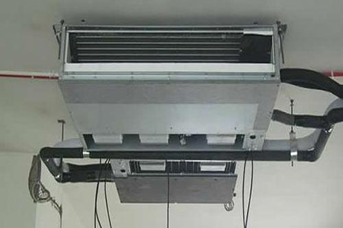 中央空调室内机安装效果图