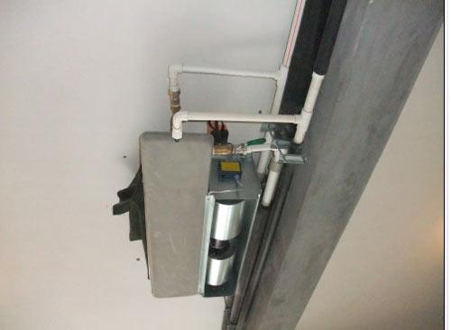 中央空调风机盘管安装效果图
