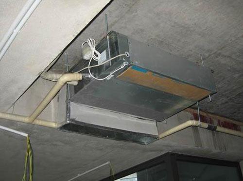 中央空调制冷剂管道安装效果图