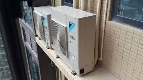 中央空调室外机效果图