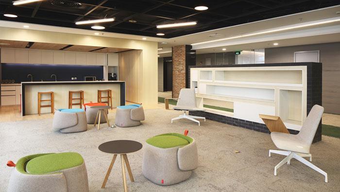 1450平方工业风格办公室装修设计案例