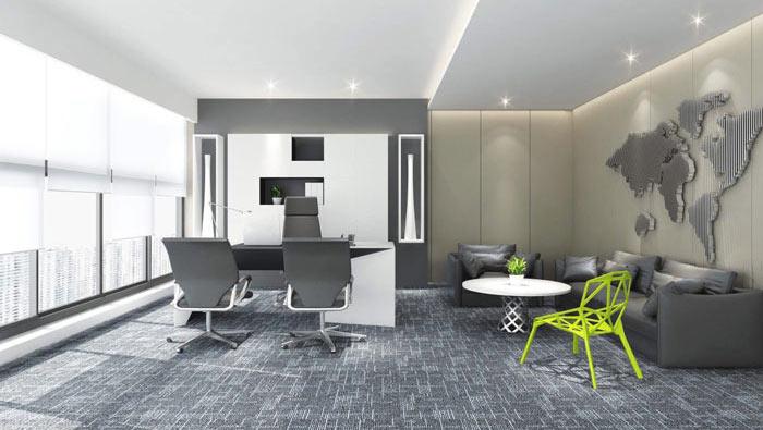 广告代理公司办公室装修设计案例