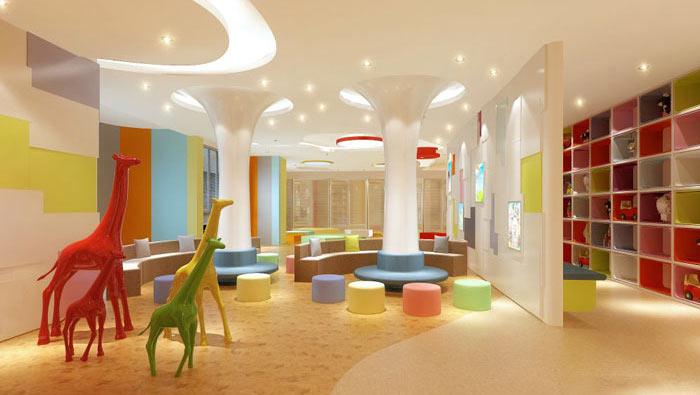 早教中心办公室装修设计案例