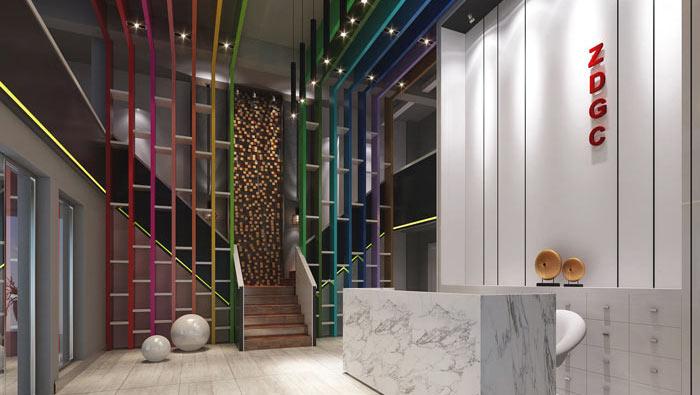 室内设计事务所办公室装修设计案例