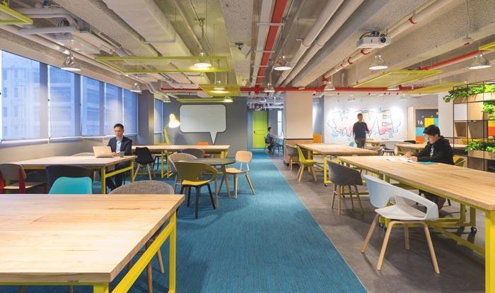 文化创意公司办公室装修设计案例