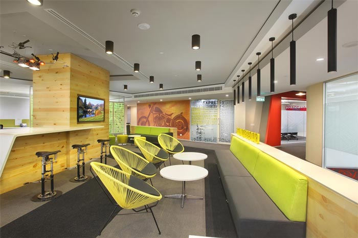 传媒广告公司办公室装修设计案例