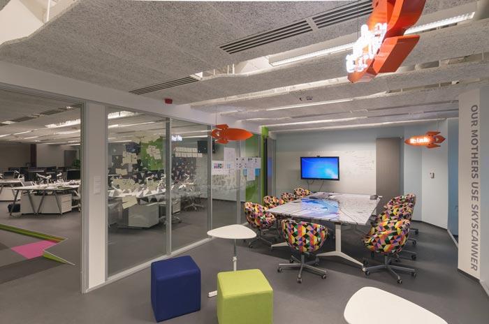 旅游门户网办公室装修设计案例