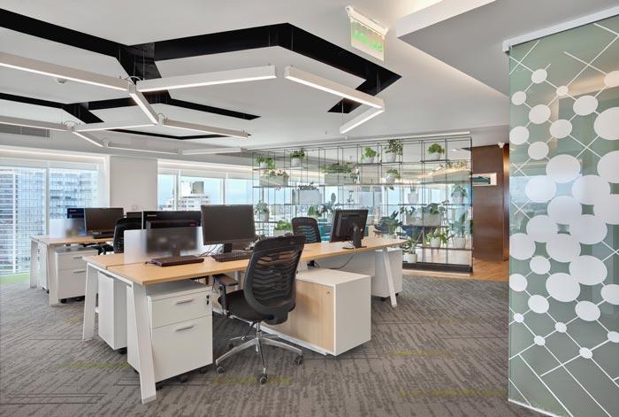 平面设计公司办公室装修设计案例