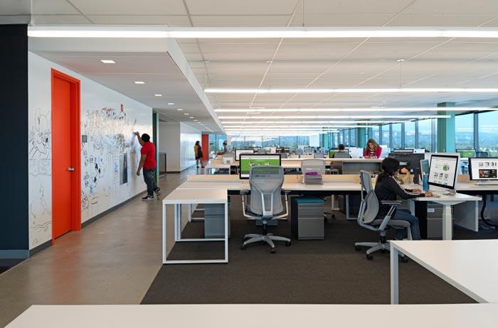 APP开发公司办公室装修设计案例