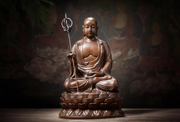 地藏菩萨摆件效果图