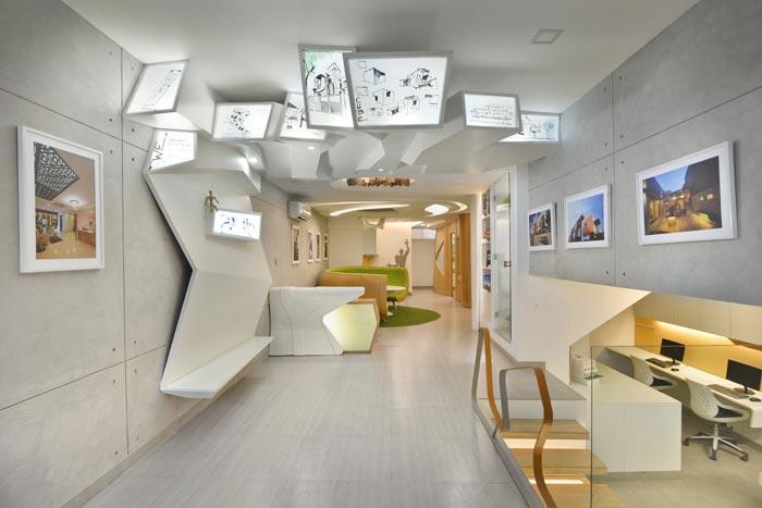 小型设计院办公室装修设计案例