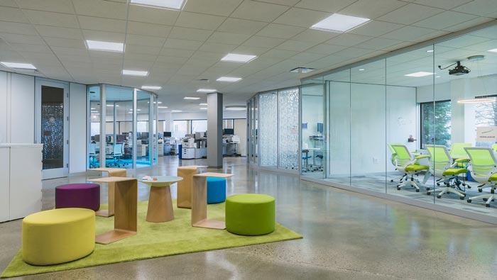 B2B公司办公室装修设计案例