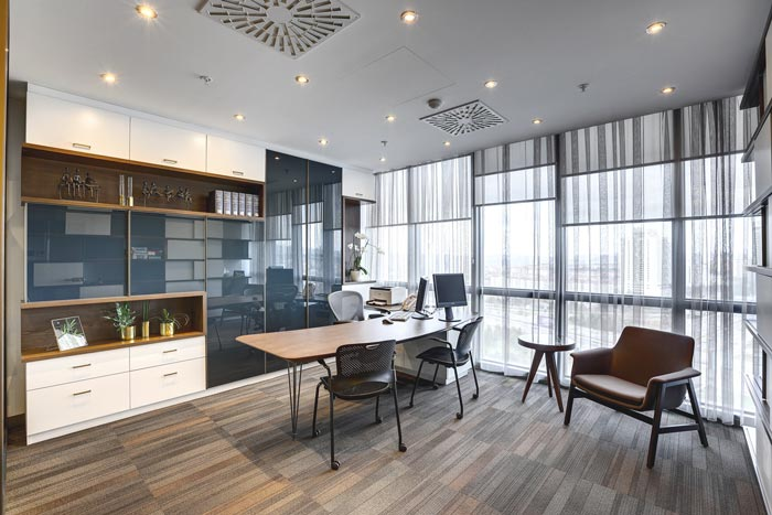 法律服务咨询公司办公室装修设计案例